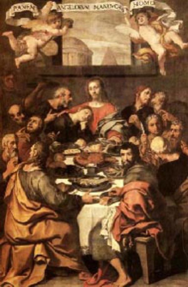 Jeudi Saint : institution de l'Eucharistie et du Sacerdoce
