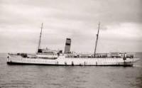 Imagen del J.J. Sister, barco que trasladó a san Josemaría a Roma.
