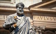 Por que é que o Papa é Pedro?