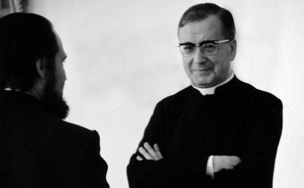 Opus Dei - Joseph Ratzinger su san Josemaría