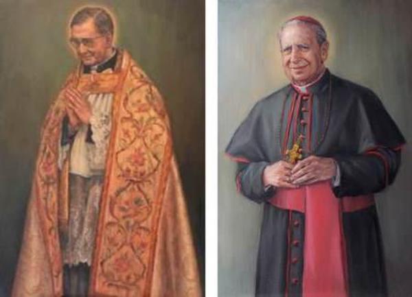 Ritratti di San Josemaría e del Beato Alvaro