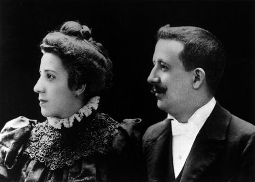 A mãe e o pai de S. Josemaria