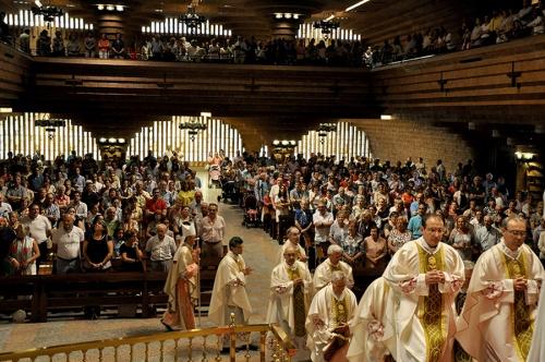 Die Messe am 5. Juli feierte der Bischof von Mónzón-Barbastro
