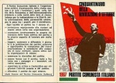 Politische Propaganda in Mailand, 1960