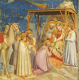 Giotto, The Adoration of the Magi