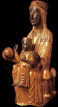 Statue of Our Lady of Montserrat