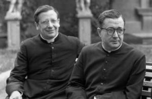 Mons. del Portillo și Sf. Josemaría