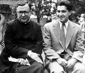 San Josemaría y Juan Larrea. 1954