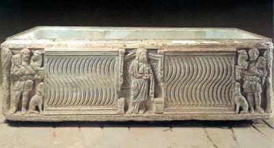 Ein Grab aus dem 4. Jh.