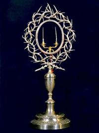 Das Reliquiar mit zwei Dornen aus der Dornenkrone