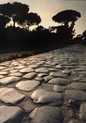 Via Appia blisko Rzymu