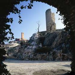Antiga ermida e o Santuário de Torreciudad