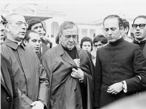 Il fondatore dell'Opus Dei a Fatima il 2 novembre 1972.