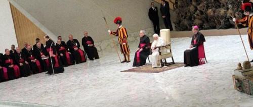 AUDIENCE GÉNÉRALE Salle Paul VI, Mercredi 23 janvier 2013