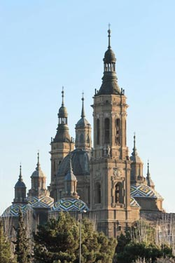 Our Lady of Pilar in Saragossa, where he celebrated his first Mass on March 30, 1925