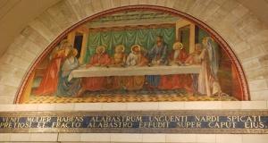 Autre détail des scènes représentées à l'intérieur de l'Eglise. Photo : Alfred Driessen.