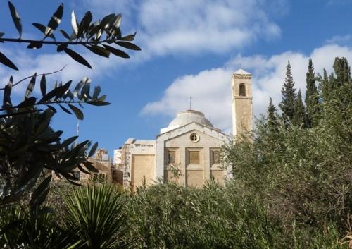 Le sanctuaire actuel fut construit en 1954. Photo: Azaria.