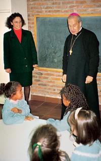 Besuch des Prälaten des Opus Dei im CADI
