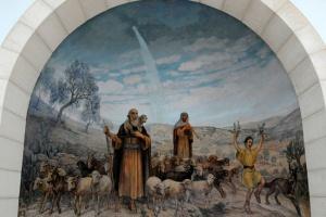 Sur les absides il y a des représentations des principales scènes du passage évangélique. Photo : Berthold Werner (Wikimedia Commons).