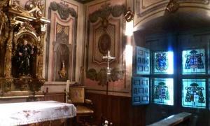 Die Kapelle im erzbischöflichen Palast von Pamplona, wo der hl. Josefmaria die ersten Besinnungstage nach dem Übergang über die Pyrenäen machte