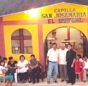 La chapelle fut inaugurée le 11 septembre 2008