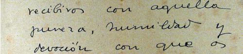 """Von einem Piaristenpater lernte er das Gebet der geistigen Kommunion: """"Ich möchte dich empfangen, Herr, mit jener Reinheit, Demut und Andacht, mit der deine heiligste Mutter dich empfing, mit dem Geist und der Inbrunst der Heiligen."""""""