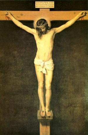 <b>Le Christ en Croix. Velazquez. Musée du Prado</b>