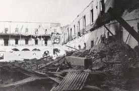 Angriff auf die Kaserne 'Cuartel de la Montaña', dem Zentrum des Aufstands in Madrid