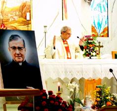 """الإحتفال بالذبيحة الإلهية في كنيسة القديس فرنسيس في """"جبل علي"""" - السبت 9 حزيران 2012 عند الـ12:30 ظهراً"""