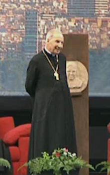 Bischof Javier Echevarría,der heutige Prälat des Opus Dei