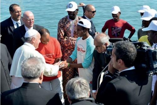Papa Franjo, Lampedusa