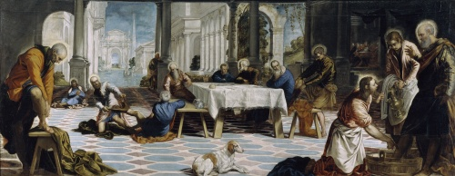 Le lavement des pieds, Tintoretto