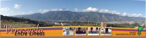 Portal de la  web www.venezuelaentrelineas