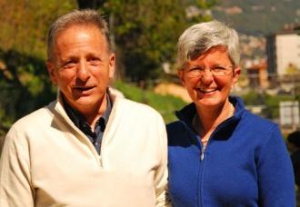 Claudio und Fausta in der Schweiz, wo sie ihre Familie gründeten
