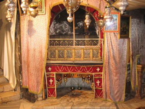 Luogo della nascita di Gesù. Foto Antoine Taveneaux (Wikimedia Commons).