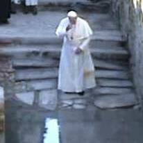 Papa Francesco al Giordano