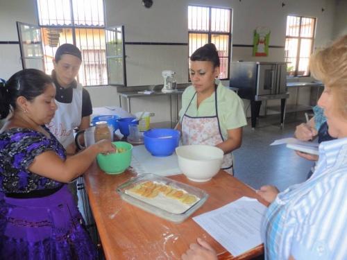 Las Gravileas entstand als Antwort auf die Notwendigkeit beruflicher Bildung für Frauen