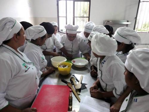 Einblick in einen der jährlichen Kurse für Backen, Kochen und Dekoration