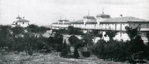 Ansicht des Hospital del Rey