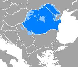 Länder und Gebiete, wo rumänisch gesprochen wird