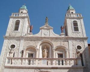 In Kefer Kenna erbaute Kirche