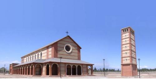 Église Saint-Josémaria à Santiago du Chili