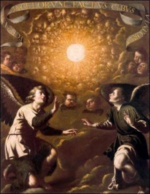 Adoration, tableau Jerónimo Jacinto de Espinosa (XVII s.)