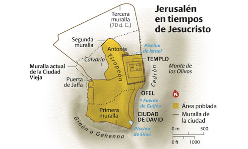 Gerusalemme ai tempi di Gesù Cristo. J. Gil