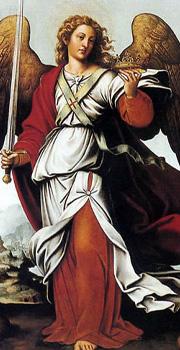 Ángel Custodio, pintura de Joan de Joanes