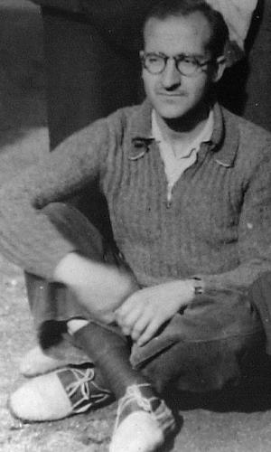 3 dicembre 1937. Juan accompagnò san Josemaría nel passaggio dei Pirenei, durante la guerra civile spagnola.