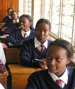 Studentesse di Kianda School