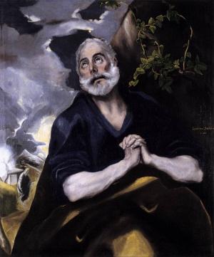 El Greco, Die Tränen des Apostels Petrus