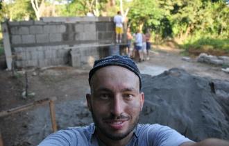 Im Arbeitscamp in Nicaragua, 2012