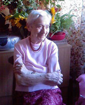 Irena Kalpas w domu